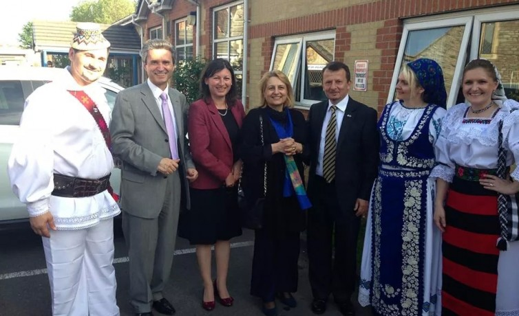Click: Visit to Bristol of HE The Romanian Ambassador Dr Ion Jinga – May 2014